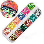 cheap -1pcs Nail Glitter Glitters Nail Art Design