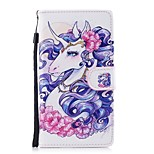 cheap -Case For Huawei P10 Lite P8 Lite (2017) Card Holder Wallet with Stand Flip Pattern Full Body Cases Unicorn Hard PU Leather for P10 Lite