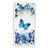 cheap -Case For Huawei P20 lite P10 Lite Shockproof Transparent Pattern Back Cover Butterfly Soft TPU for Huawei P20 lite P10 Lite Huawei P9