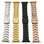cheap -Watch Band for Apple Watch Series 3 / 2 / 1 Apple Classic Buckle Metal Stainless Steel Wrist Strap