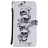 cheap -Case For Huawei Mate 10 Mate 10 lite Card Holder Wallet with Stand Flip Magnetic Full Body Cases Skull Hard PU Leather for Mate 10 lite