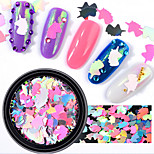 cheap -1pcs Nail Glitter Sweet Style Cute Casual / Daily Nail Art Design