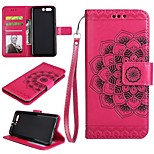 cheap -Case For Huawei P10 P10 Lite Card Holder Wallet Flip Embossed Full Body Cases Flower Hard PU Leather for P10 Plus P10 Lite P10 Huawei P9