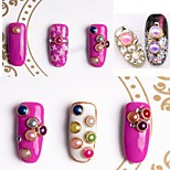 cheap -1pcs Nail Jewelry Classic Jewelry Imitation Pearl Cute Odor Free Fashionable Design Comfy Dailywear Nail Art Forms Nail Art Design