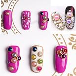 Недорогие -1pcs Украшения для ногтей Искусственный жемчуг Милый стиль Без запаха Модный дизайн удобный На каждый день Формы для ногтей Дизайн ногтей