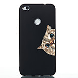 cheap -Case For Huawei P20 lite P20 Pattern Back Cover Cat Soft TPU for Huawei P20 lite Huawei P20 P10 Lite P10 Huawei P9 Lite P8 Lite (2017)