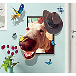 cheap -Wall Decal Decorative Wall Stickers - Animal Wall Stickers Abstract Animals Removable