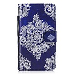 cheap -Case For Huawei P10 Lite P8 Lite (2017) Card Holder Wallet with Stand Flip Pattern Full Body Cases Lace Printing Hard PU Leather for P10