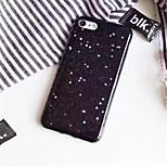 Недорогие -Кейс для Назначение Apple iPhone X / iPhone 7 Plus С узором Кейс на заднюю панель Сияние и блеск Мягкий ТПУ для iPhone X / iPhone 7 Plus / iPhone 7
