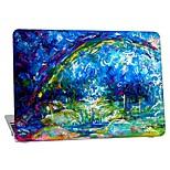 """Недорогие -MacBook Кейс для Масляный рисунок пластик Новый MacBook Pro 15"""" Новый MacBook Pro 13"""" MacBook Pro, 15 дюймов MacBook Air, 13 дюймов"""