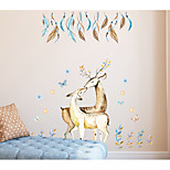 cheap -Wall Decal Decorative Wall Stickers - Plane Wall Stickers Abstract Animals Removable
