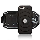 economico -Custodia Per Apple iPhone 8 Plus iPhone 7 Plus Fasce da braccio per sport Porta-carte di credito Resistente agli urti Fascia da braccio