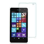 Недорогие -Защитная плёнка для экрана Nokia для Nokia Lumia 535 Закаленное стекло 1 ед. Защитная пленка для экрана Взрывозащищенный Уровень защиты 9H