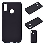 cheap -Case For Huawei P20 lite Ultra-thin Back Cover Solid Colored Soft TPU for Huawei P20 lite