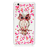 cheap -Case For Huawei P20 lite P10 Lite Shockproof Transparent Pattern Back Cover Owl Soft TPU for Huawei P20 lite P10 Lite Huawei P9 Lite P8