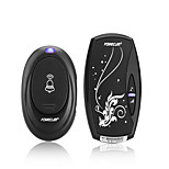 cheap -forecum 6 Wireless One to One Doorbell Ding dong / Music Sound adjustable Surface Mounted Doorbell