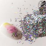 cheap -1 pcs Nail Glitter Glitters Nail Art Design Casual / Daily