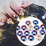 cheap -5pcs Crystal Ornaments Nail Art Forms