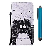 cheap -Case For Wiko WIKO Sunny 2 plus Card Holder Wallet with Stand Flip Magnetic Full Body Cases Cat Hard PU Leather for Wiko View XL Wiko