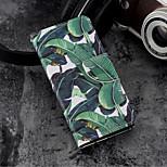Недорогие -Кейс для Назначение Huawei P20 / P20 lite Кошелек / Бумажник для карт / со стендом Чехол Растения / дерево Твердый Кожа PU для Huawei P20