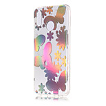 cheap -Case For Huawei P20 lite / P20 Plating / Transparent / Pattern Back Cover Butterfly Soft TPU for Huawei P20 lite / Huawei P20 Pro /