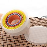 Недорогие -Инструменты для выпечки пластик Своими руками / Креатив конфеты / Для торта / Cupcake Формы для нарезки печенья