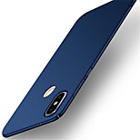 cheap -Case For Xiaomi Redmi Note 5 Pro Ultra-thin Frosted Back Cover Solid Colored Hard PC for Xiaomi Redmi 5 Xiaomi Redmi 5 Plus Redmi 5A
