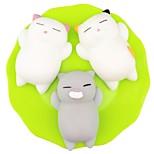 Недорогие -LT.Squishies Резиновые игрушки / Устройства для снятия стресса Кошка Товары для офиса / Декомпрессионные игрушки Others 3pcs Детские Все