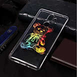 cheap -Case For Nokia Nokia 7 Plus / Nokia 6 2018 Plating / Pattern Back Cover Animal Soft TPU for Nokia 7 Plus / Nokia 6 2018 / Nokia 1