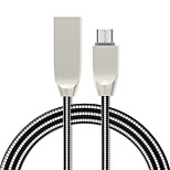 cheap -Micro USB USB Cable Adapter Quick Charge Cable For Samsung / Huawei / LG 100cm TPE