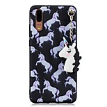 cheap -Case For Huawei P20 P10 Pattern Back Cover Unicorn Soft TPU for Huawei P20 lite Huawei P20 P10 Lite P10 Huawei P9