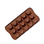 Недорогие -Инструменты для выпечки Силикон Творческая кухня Гаджет Шоколад / конфеты Десертные инструменты 1шт