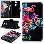 cheap -Case For Sony Sony Xperia XA2 / Xperia L2 Wallet / Card Holder / with Stand Full Body Cases Flamingo Hard PU Leather for Sony Xperia XA2