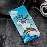 cheap -Case For Huawei P20 lite / P20 Card Holder / Wallet / with Stand Full Body Cases Unicorn Hard PU Leather for Huawei P20 lite / Huawei P20