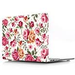 """Недорогие -MacBook Кейс для Цветы пластик Новый MacBook Pro 15"""" / Новый MacBook Pro 13"""" / MacBook Pro, 15 дюймов"""