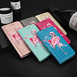 cheap -Case For Samsung Galaxy J2 PRO 2018 Card Holder Wallet with Stand Flip Pattern Full Body Cases Flamingo Hard PU Leather for J2 PRO 2018
