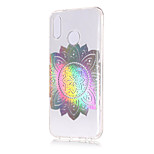 cheap -Case For Huawei P20 lite / P20 Plating / Transparent / Pattern Back Cover Mandala Soft TPU for Huawei P20 lite / Huawei P20 Pro / Huawei