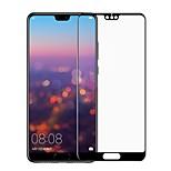 Недорогие -Защитная плёнка для экрана для Huawei Huawei P20 lite Закаленное стекло 1 ед. Защитная пленка для экрана 3D закругленные углы / Против