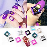 cheap -10pcs Crystal / Stylish Nail Jewelry Nail Art Forms