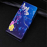 cheap -Case For Sony Xperia XA2 Ultra / Xperia XZ2 Card Holder / Wallet / with Stand Full Body Cases Butterfly Hard PU Leather for Xperia XA2 /
