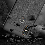 cheap -Case For Xiaomi Xiaomi Mi Mix 2S Embossed Back Cover Solid Colored Soft TPU for Xiaomi Mi Mix 2S