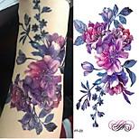 cheap -3pcs Sticker Flower Series / Romantic Series Tattoo Stickers