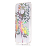 cheap -Case For Huawei P20 lite / P20 Plating / Transparent / Pattern Back Cover Dandelion Soft TPU for Huawei P20 lite / Huawei P20 Pro /