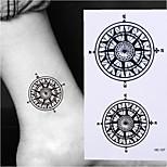 cheap -10pcs Sticker Totem Series Tattoo Stickers