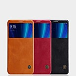 cheap -Case For Xiaomi Xiaomi Mi 6X Card Holder / with Windows / Flip Full Body Cases Solid Colored Hard PU Leather for Xiaomi Mi 6X(Mi A2)