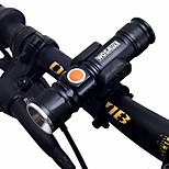 cheap -LED Flashlights / Torch / LED Light / Bike Lights Dual LED Cycling Portable / Adjustable / Quick Release 18650 1000lm Lumens Chargeable /