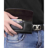 economico -Custodia Per Apple iPhone X iPhone 8 Plus Porta-carte di credito Borsetta marsupio Tinta unita Resistente pelle sintetica per iPhone X