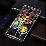 Недорогие -Кейс для Назначение Nokia Nokia 7 Plus / Nokia 6 2018 Покрытие / С узором Кейс на заднюю панель одуванчик Мягкий ТПУ для Nokia 7 Plus /