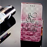 Недорогие -Кейс для Назначение Huawei P20 lite P20 Pro Бумажник для карт Кошелек со стендом Флип Магнитный Чехол Пейзаж Твердый Кожа PU для Huawei