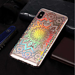 cheap -Case For Xiaomi Redmi Note 5 Pro / Redmi 5A Plating / Pattern Back Cover Flower Soft TPU for Xiaomi Redmi Note 5 Pro / Xiaomi Redmi 5